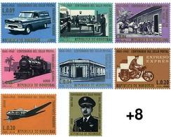 Ref. 599896 * HINGED * - HONDURAS. 1966. CENTENARY OF THE STAMP . CENTENARIO DEL SELLO - Honduras