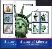 St Vincent 2016 Statue Of Liberty Sheetlet Set Unmounted Mint. - St.Vincent (1979-...)