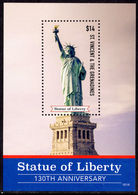 St Vincent 2016 Statue Of Liberty Souvenir Sheet Unmounted Mint. - St.Vincent (1979-...)