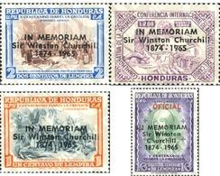 Ref. 213928 * MNH * - HONDURAS. 1965. HISTORICAL PERSONALITIES . PERSONAJES HISTORICOS - Sir Winston Churchill