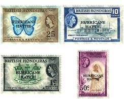Ref. 76045 * MNH * - BRITISH HONDURAS. 1962. HATTIE HURRICANE . HURACAN HATTIE - British Honduras (...-1970)