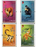 Ref. 154449 * MNH * - HONG KONG. 2004. NEW CHINESE YEAR OF THE MONKEY . NUEVO AÑO CHINO DEL MONO - Astrologia