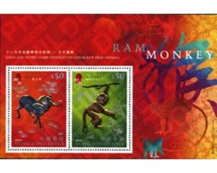Ref. 154450 * MNH * - HONG KONG. 2004. NEW CHINESE YEAR OF THE MONKEY . NUEVO AÑO CHINO DEL MONO - Astrologia