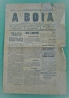 Almeirim - Jornal A Boia De 1919 - Imprensa. Santarém (danificado) - Andere