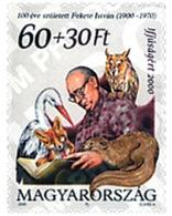 Ref. 66456 * MNH * - HUNGARY. 2000. A BENEFICIO DE LA JUVENTUD. CENTENARIO DEL NACIMIENTO DEL ESCRITOR ISTVAN FEKETE - Hongarije