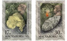 Ref. 104196 * MNH * - HUNGARY. 1993. PREHISTORIC REMAINS . VESTIGIOS PREHISTORICOS - Fossils