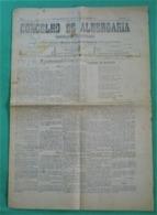 Albergaria-a-Velha - Jornal Concelho De Albergaria Nº 33, 23 De Fevereio De 1918 - Imprensa. Aveiro. - Andere