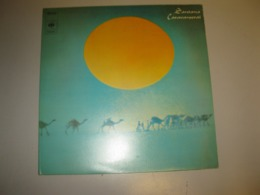 "VINYLE SANTANA ""CARAVANSERAI"" 33 T CBS (1972) - Vinyl-Schallplatten"