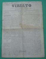 Viseu - Jornal Viriato De 1881 - Imprensa - Andere
