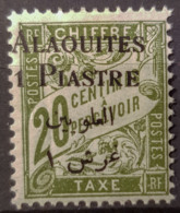 ALAOUITES 1925 - MLH - YT 2 - 1p/20c Timbre Taxe - Nuovi
