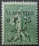 ALAOUITES 1925 - MLH - YT 3 - 0,75p/15c - Nuovi