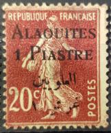 ALAOUITES 1925 - MLH - YT 4 - 1p/20c - Nuovi