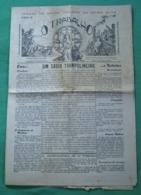Viseu - Jornal O Trabalho Nº 185 De Abril De 1937 - Imprensa - Andere