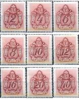 Ref. 325790 * MNH * - HUNGARY. 1941. POSTAGE DUE . TASAS - Hungary