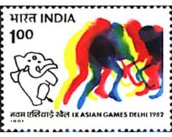 Ref. 325908 * MNH * - INDIA. 1981. 9th ASIAN GAMES IN NEW DELHI . 9 JUEGOS ASIATICOS EN NUEVA DELHI - Hockey (Field)