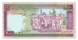 Iran 2000 Rials.   UNC - Iran