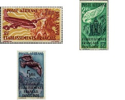 Ref. 596473 * MNH * - FRENCH INDIA. 1948. DIFFERENT CONTENTS . MOTIVOS VARIOS - Indien (1892-1954)