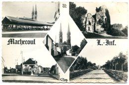 44270 MACHECOUL - Halles, Château De Barbe-Bleue, Rue De La Gare, La Rabine - Photographie Véritable - Machecoul