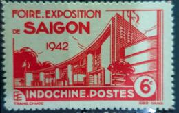 INDOCHINE 1942 - MNH - YT 231 - 6c - Nuovi