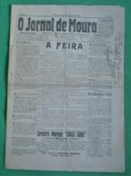 Moura - O Jornal De Moura Nº 216 De Setembro De 1925 - Imprensa. Beja. - Andere