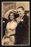 Elegant Couple Marriage Real Photo Postcard A Vaan Beurden Hoffotograaf Hat Bag Ca 1930 W5-706 - Noces
