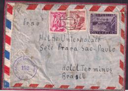 Österreich - 1952 - Brief - Nach Brasil Geschickt Mit Alliierter Zensur - 1945-.... 2nd Republic