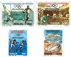 Ref. 70317 * MNH * - ITALY. 1996. GAMES OF THE XXVI OLYMPIAD. ATLANTA 1996. CENTENARY OF THE OLYMPIC GAMES . 26 JUEGOS O - Summer 1896: Athens