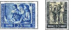 Ref. 130436 * MNH * - ITALY. 1955. 5th CENTENARY OF THE DEATH OF FRAY ANGELICO . 5 CENTENARIO DE LA MUERTE DE FRAY ANGEL - Christianity