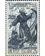 Ref. 130463 * MNH * - ITALY. 1957. 450th ANNIVERSARY OF THE DEATH OF ST. FRANCIS DI PAOLA . 450 ANIVERSARIO DE LA MUERTE - 1946-60: Mint/hinged