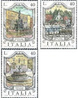 Ref. 131188 * MNH * - ITALY. 1974. HISTORICAL FOUNTAINS . FUENTES HISTORICAS - Agua