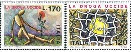 Ref. 131271 * MNH * - ITALY. 1977. CAMPAIGN AGAINST DRUGS . CAMPAÑA CONTRA LA DROGA - Unclassified