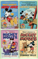 New Zealand - Private Overprint - 1994 Mickey Mouse I Set (4) - Mint - NZCO43 - New Zealand