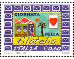 Ref. 238346 * MNH * - ITALY. 2009. DAY OF PHILATELY . DIA DE LA FILATELIA - 6. 1946-.. Republic