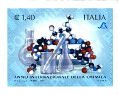 Ref. 269853 * MNH * - ITALY. 2011. AÑO INTERNACIONAL DE LA QUIMICA - 6. 1946-.. Repubblica