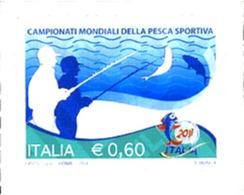 Ref. 269857 * MNH * - ITALY. 2011. CAMPEONATOS DEL MUNDO DE PESCA - 6. 1946-.. Repubblica