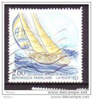 ## France, Bateau, Boat, Voile - Gebraucht