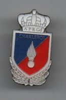 Pin's Gendarmerie Belge Unité APR ,dos Argenté Par Aadvertys Sprl,  Rare......BT14 - Militaria