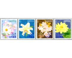 Ref. 318793 * MNH * - JAPAN. 2014. FLOWERS . FLORES - Nuovi