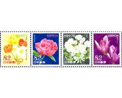 Ref. 318795 * MNH * - JAPAN. 2014. FLOWERS . FLORES - Nuovi