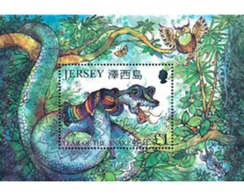 Ref. 94919 * MNH * - JERSEY. 2001. NEW CHINESE YEAR OF THE SNAKE . NUEVO AÑO CHINO DE LA SERPIENTE - Astrologia