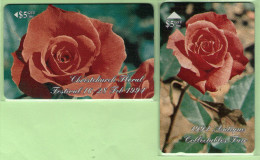 New Zealand - Private Overprint - 1994 Christchurch Floral Festival Set (2) - Mint - NZ-CO-25 - New Zealand
