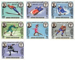 Ref. 256660 * MNH * - KATHIRI. State Of Seiyun. 1967. X OLYMPIC WINTER GAMES. GRENOBLE 1968 . 10 JUEGOS OLIMPICOS  INVIE - Winter 1968: Grenoble