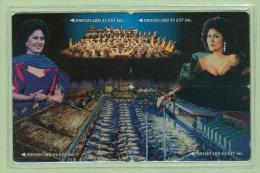 New Zealand - Private Overprint - 1994 Quayside With Dame Kiri - Puzzle Set (4) - Mint - NZ-CO-21 - New Zealand