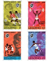 Ref. 27550 * MNH * - LESOTHO. 1976. GAMES OF THE XXI OLYMPIAD. MONTREAL 1976 . 21 JUEGOS OLIMPICOS VERANO MONTREAL 1976 - Estate 1976: Montreal