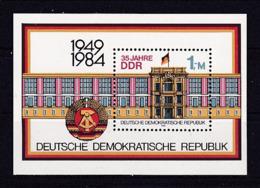 28i * DDR * BLOCK 77 * POSTFRISCH **!! - [6] Oost-Duitsland