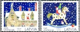 Ref. 314965 * MNH * - LATVIA. 2013. CHRISTMAS . NAVIDAD - Latvia