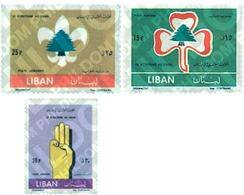 Ref. 338350 * MNH * - LIBAN. 1962. 50th ANNIVERSARY OF THE SCOUTS . 50 ANIVERSARIO DEL ESCULTISMO - Lebanon