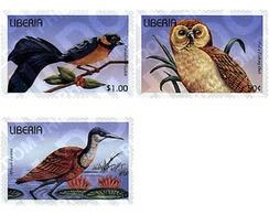 Ref. 338717 * MNH * - LIBERIA. 1996. BIRDS . AVES - Liberia