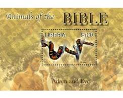 Ref. 190890 * MNH * - LIBERIA. 2006. ANIMALS OF THE BIBLE . ANIMALES DE LA BIBLIA - Liberia