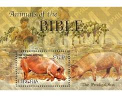 Ref. 190892 * MNH * - LIBERIA. 2006. ANIMALS OF THE BIBLE . ANIMALES DE LA BIBLIA - Liberia